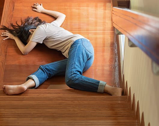 slip and fall accidents collinsville illinois