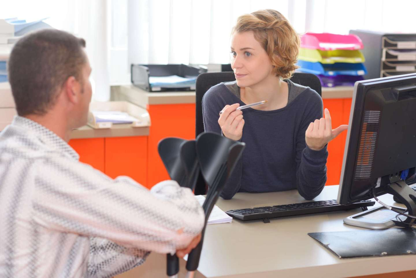 Personal Injury Attorney Meeting